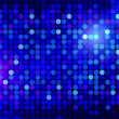 Blue disco background — Stock Photo