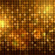 Golden disco background - Stock Photo