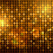 Royalty-Free Stock Photo: Golden disco background