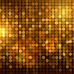 Golden disco background — Stock Photo