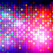 Colorful disco background — Stock Photo