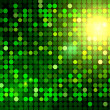 Green disco background — Stock Photo