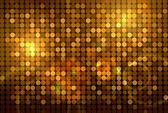 Golden disco background — 图库照片