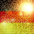 Sparkling flag of germany — Stock fotografie