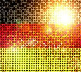 Sparkling flag of germany — Stock Photo