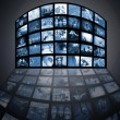 Royalty-Free Stock Photo: Television media technology