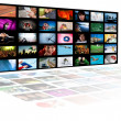 Stock Photo: Television production technology concept