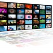 Television production technology concept — Stock Photo