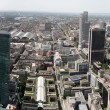 Frankfurt center panorama — Stock Photo