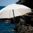 Stock Photo: White sunshade