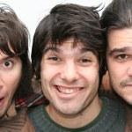 Funny Trio — Stock Photo