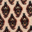 Oriental carpet macro detail — Stock Photo
