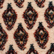 Oriental carpet macro detail - Stock Photo