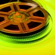 Stock Photo: Colorful film reel concept