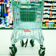 Shopping cart in store — Stock Photo #1688164