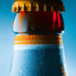 Beer bottle detail — Stock Photo
