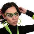 Green disguise - Stock Photo