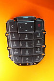Mobile phone spare part - keypad — Stock Photo
