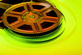 Colorful film reel concept — Stock Photo