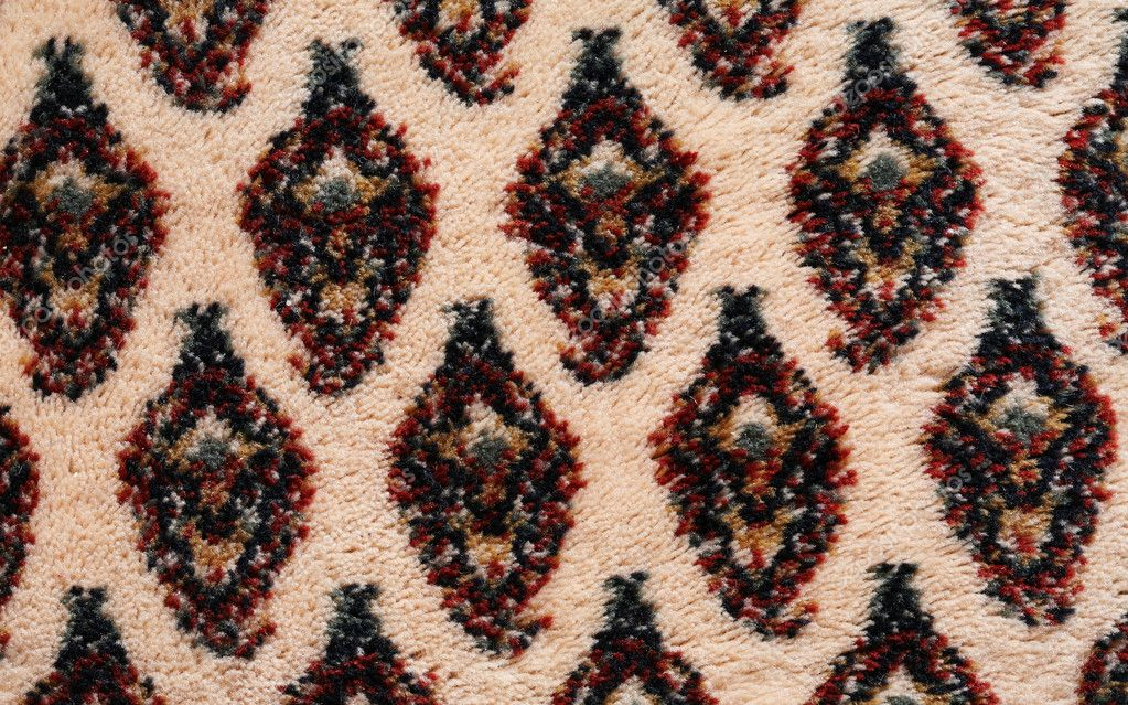 Extreme close up of oriental  carpet detail. High resolution background texture — Foto de Stock   #1686118