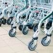 Shopping carts — Stock Photo #1690759