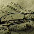 Finance and markets headline - Stock Photo