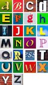 Letters — Stock Photo
