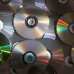 Dvd and CD discs — Stock Photo