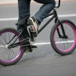 BMX bike detail - Foto Stock