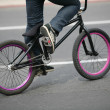 BMX bike detail — Stock Photo