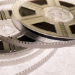 Film reels with film — Stock Photo #1758674