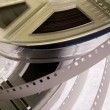 Film reels with film — Stock Photo