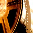 Film reels closeup - Stockfoto