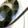 Film reels closeup — Stock Photo