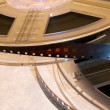 Film reels with film - Foto de Stock