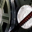 Film reels with film — Stock Photo #1758834