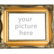 Stock Photo: EMPTY PICTURE FRAME