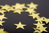 European union stars concept — Stock Photo