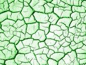 Green Crack texture — Stock Photo