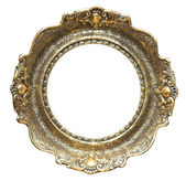 ROUND PICTURE FRAME — Stock Photo