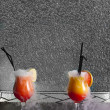 cocktails rachaduras — Foto Stock