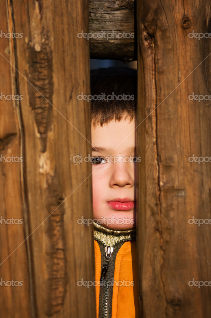 Portrait of young little boy. — Stock Photo #1663738