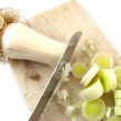 Stock Photo: Leek
