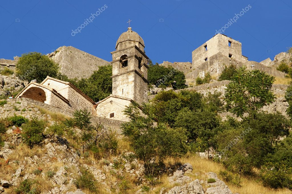 Part of old town, Kotor, Montenegro. — Stock Photo #1752893