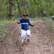 Boy Running — Foto Stock