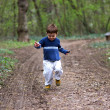 Boy Running — Stock fotografie