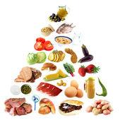 Food Pyramid — Stock Photo