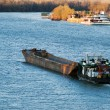 Stock Photo: Barge