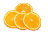 Orange lobules — Stock Photo