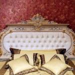 Palace interior bedroom — Stock Photo